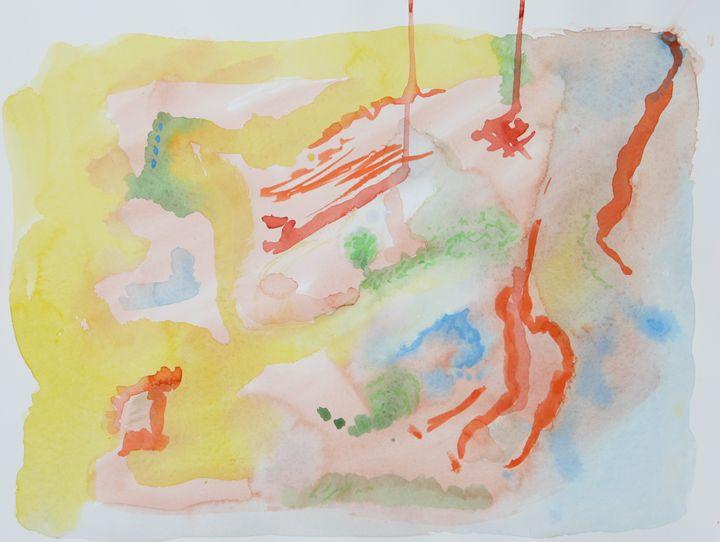 Abstract 043 - Kesslerwatercolors