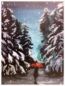 Walk in the mountain - Mehz paintings