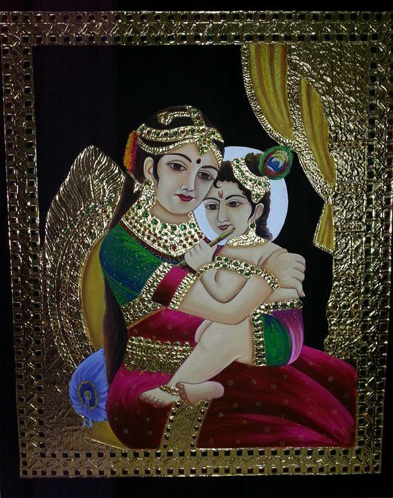 yashoda krishna - uttara's tanjore