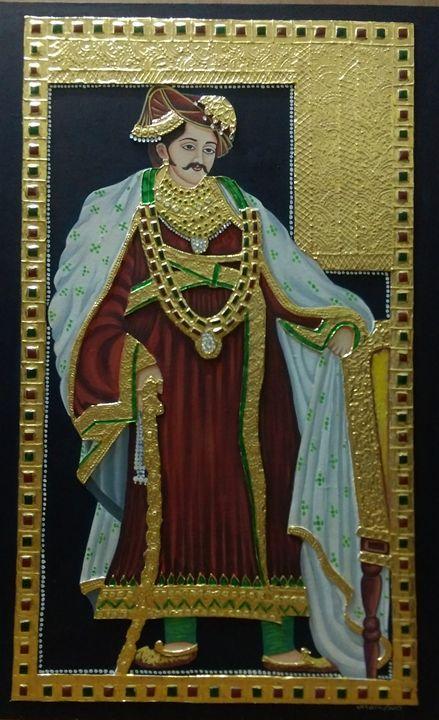 moghul king in tanjore - uttara's tanjore