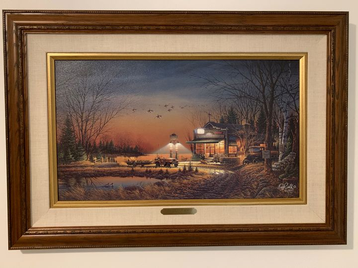 Terry Redlin - Welcome to Paradise - 3 Signed Terry Redlin prints, canvas and paper