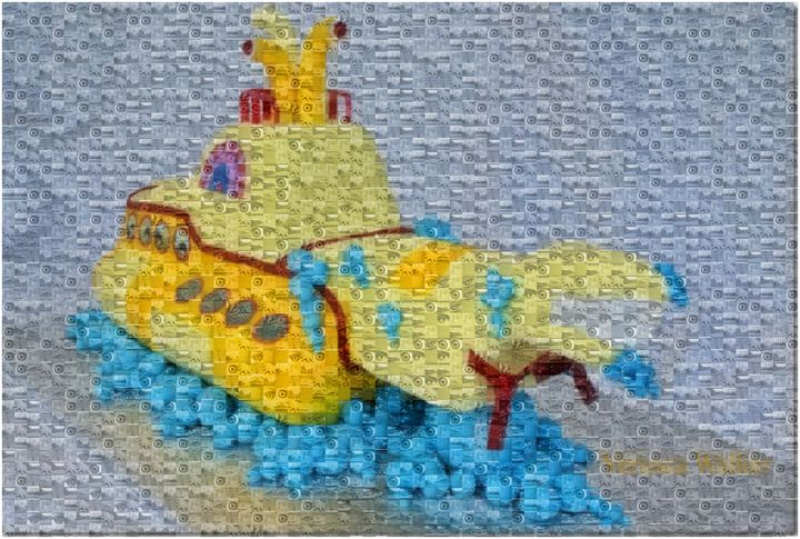 YELLOW SUBMARINE BEING HUNTED - ABSTRACTLY THINKING