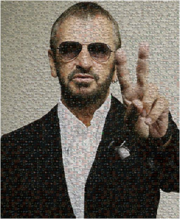 RINGO AND PEACE SIGN - ABSTRACTLY THINKING