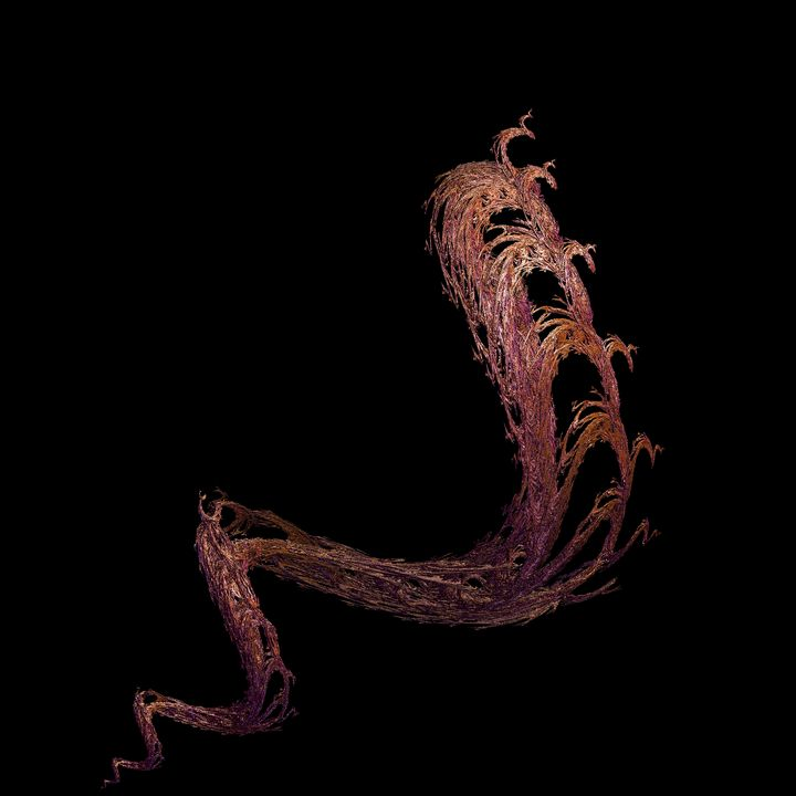 FRACTAL COPPER HEADED SNAKE - ABSTRACTLY THINKING