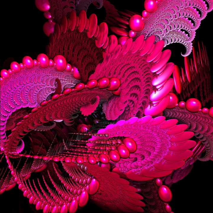 SPACE FRACTAL JELLY FISH - ABSTRACTLY THINKING
