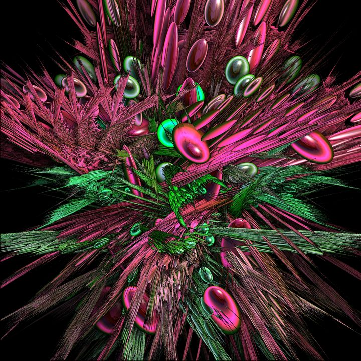 FRACTAL AVOCADO TOSSED SALAD - ABSTRACTLY THINKING