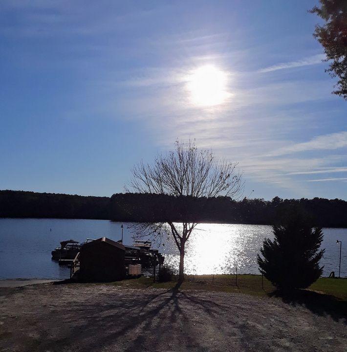 lake in SC - Dawn's Charm