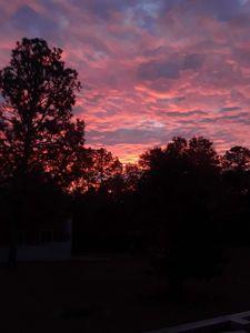 Red dawn in South Carolina