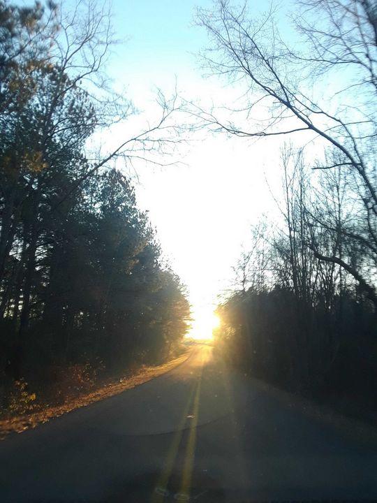 sunset road - Dawn of faith