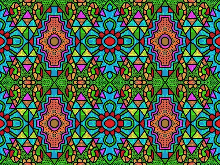 Colorful Window Glass - AGORUSDHY