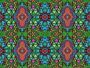 Colorful Window Glass