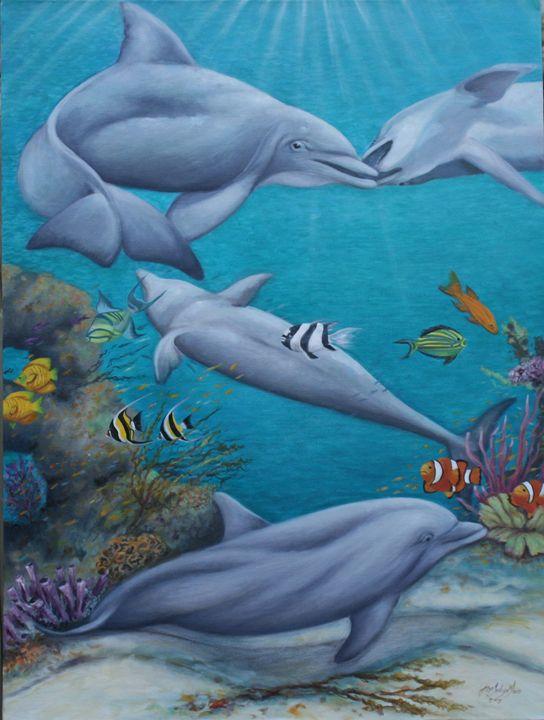 Dolphin Playland - Jane Indigo
