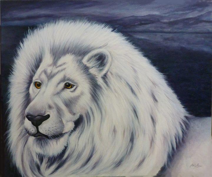 White Lion - Jane Indigo