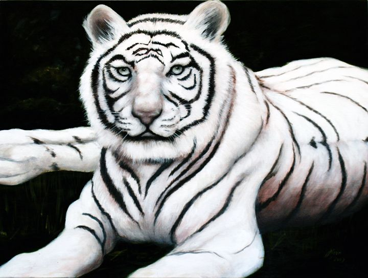 White Tiger - Jane Indigo