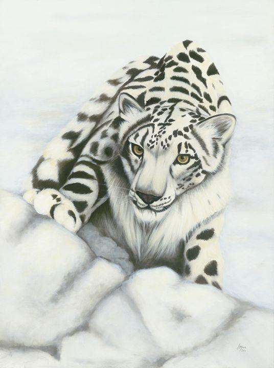 Snow Leopard - Jane Indigo