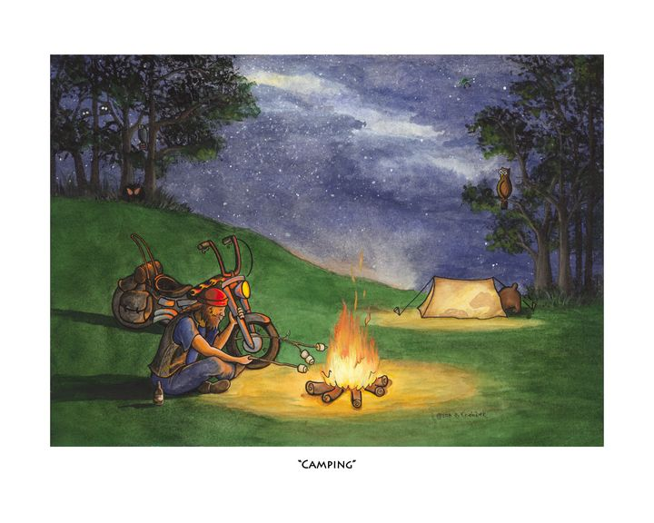 Camping - D. Koehler