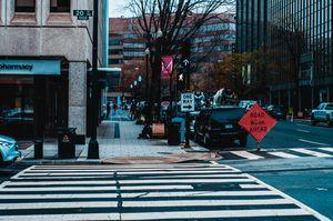 Cross Walk Empty