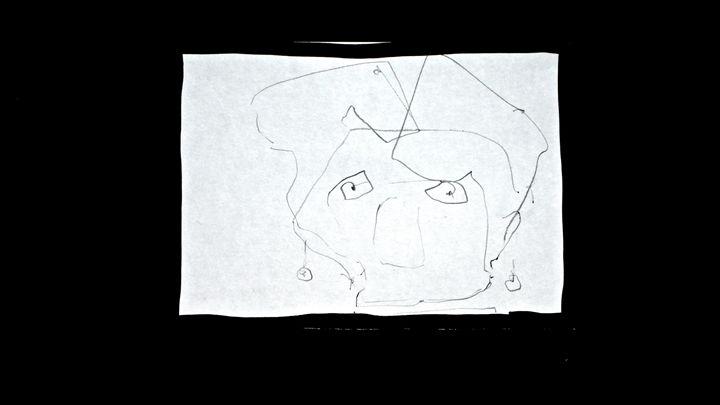 Drawing - Pierre van Kaam - Art in motion