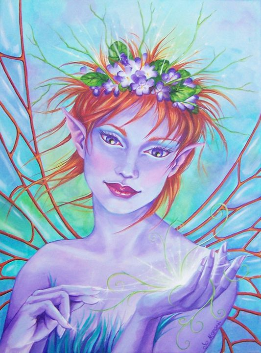 The Seedling - Jo Morgan Art