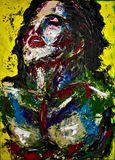 "25"" x 36,5"" acrylic painting canvas"