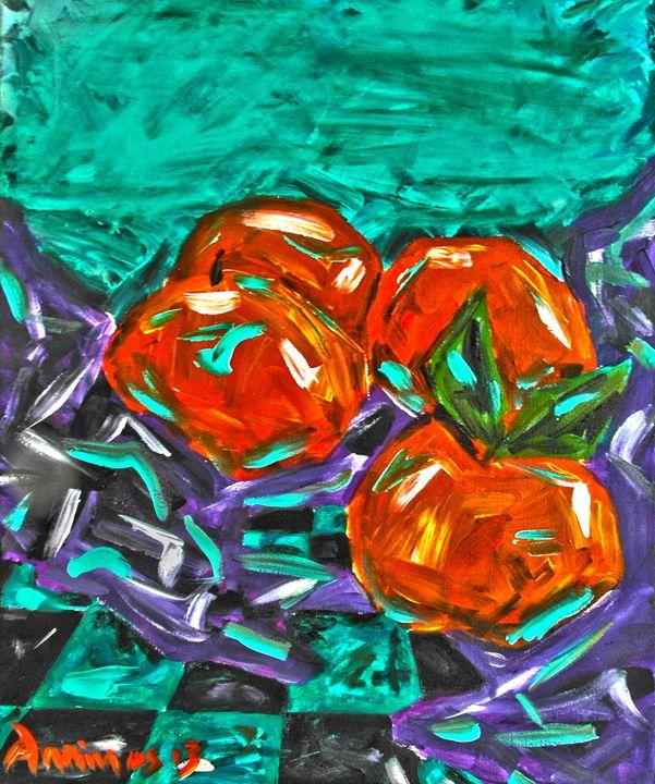 Oranges - Anninos Art