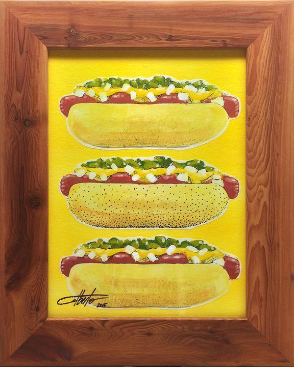 Chicago-Style Hot Dogs - NOLAZCO ARTS