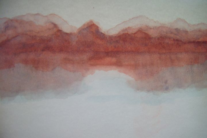 Red Rocks - Leona Dadian Akers Fine Art