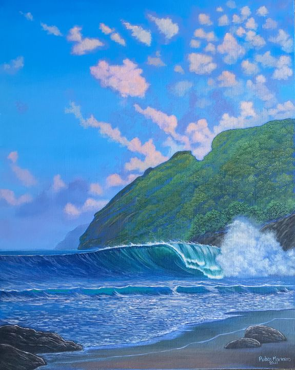 Mizata and Wave. - Ruben Marinero