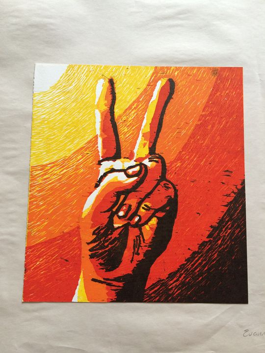 Peace Sign 2/5 - Evanne Deatherage