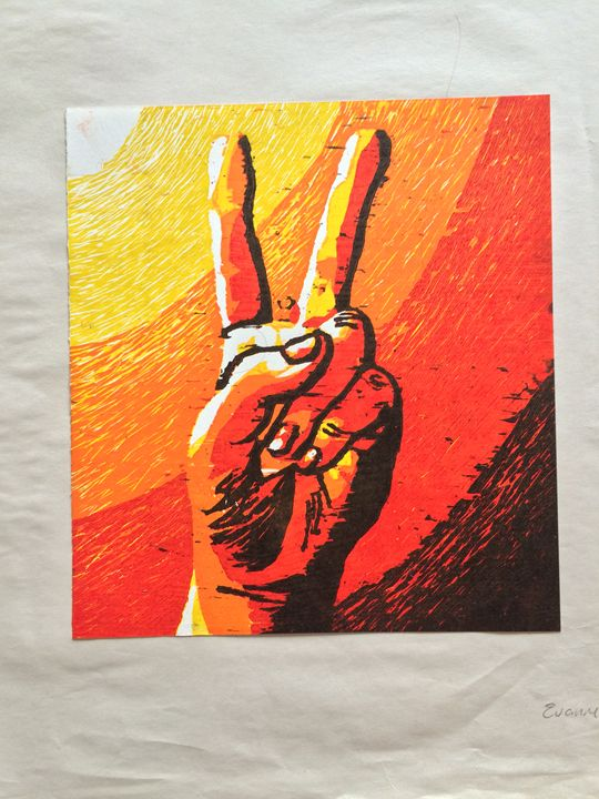 Peace Sign 3/5 - Evanne Deatherage