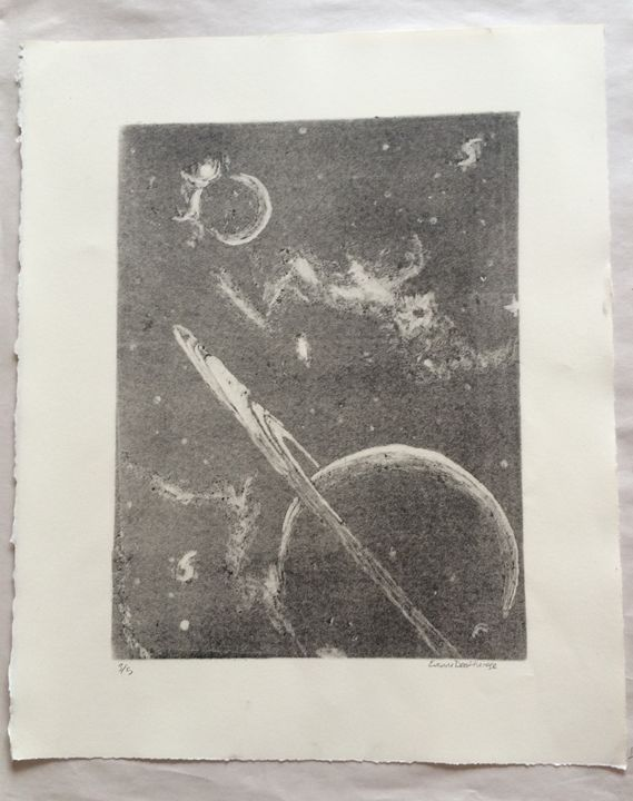 Planets in Space 3/5 - Evanne Deatherage