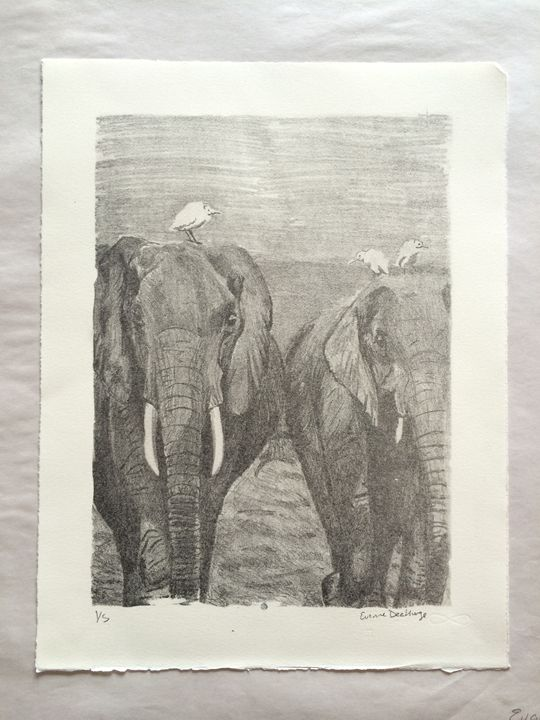Elephant Walk 1/5 - Evanne Deatherage