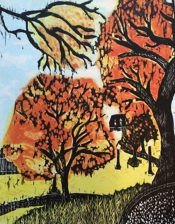 Boston Common Fall - Evanne Deatherage