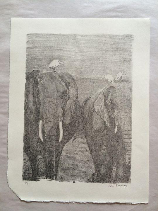 Elephant Walk 3/5 - Evanne Deatherage