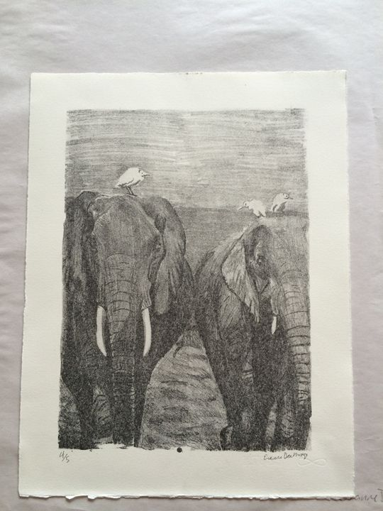 Elephant Walk 4/5 - Evanne Deatherage