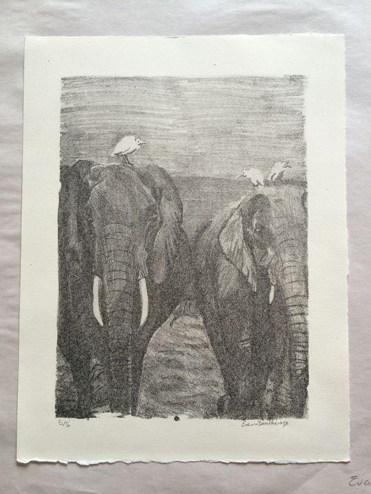 Elephant Walk 5/5 - Evanne Deatherage