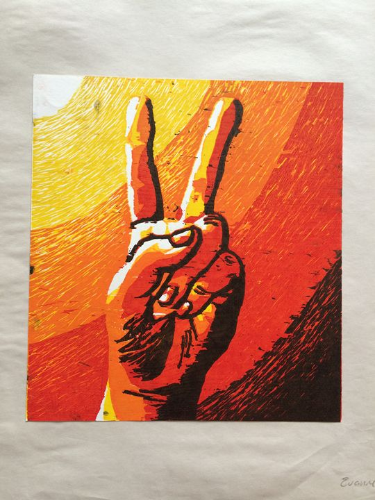 Peace Sign 1/5 - Evanne Deatherage