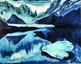 Arctic Blue Mountains