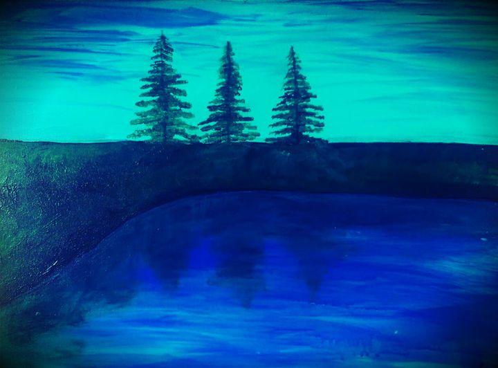 3 Wise Pines - Glow Art Shop