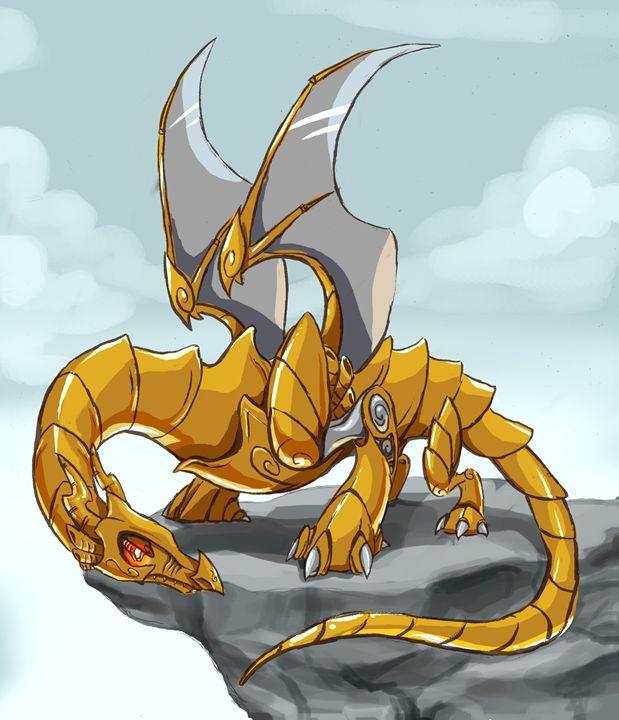 Robo Dragon - Ebyrley