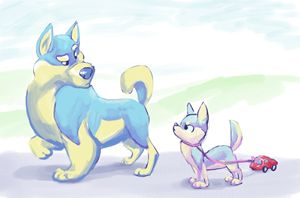 I Wanna be a Sled Dog when I Grow Up