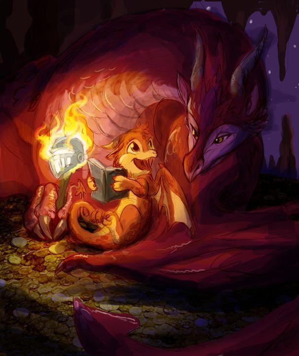 Dragon's Bedtime Story - Ebyrley