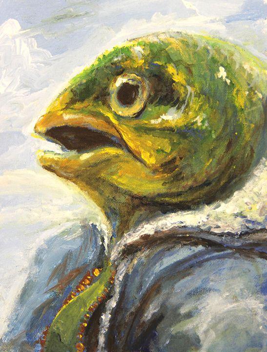 Fish Portrait - Ebyrley