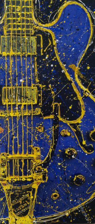Blue guitare - Drizzle Studios
