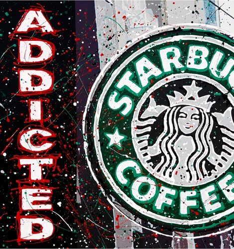 Starbucks Addicted - Drizzle Studios