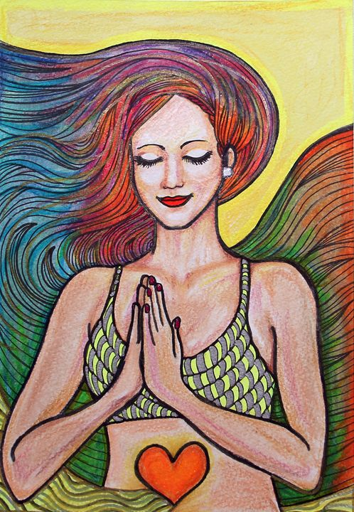 Meditating - Paula_Fridman