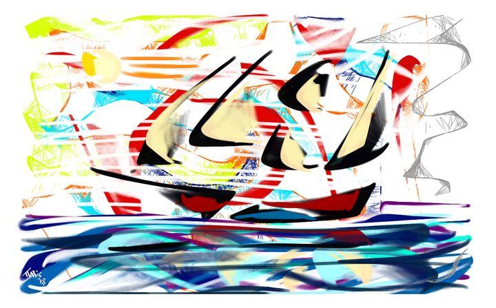 """""""Sailing 2018"""" 01 - Paxys"""