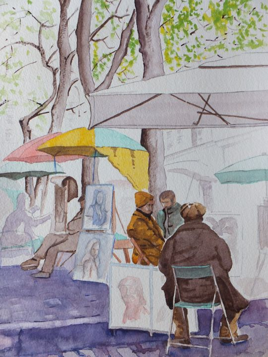 Montmartre Artist's Quarter - David Harmer