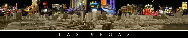 Las Vegas Panoramic - Tazz Anderson ~ Through The Lens