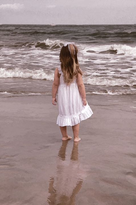 Girl by the Sea - Tazz Anderson ~ Through The Lens